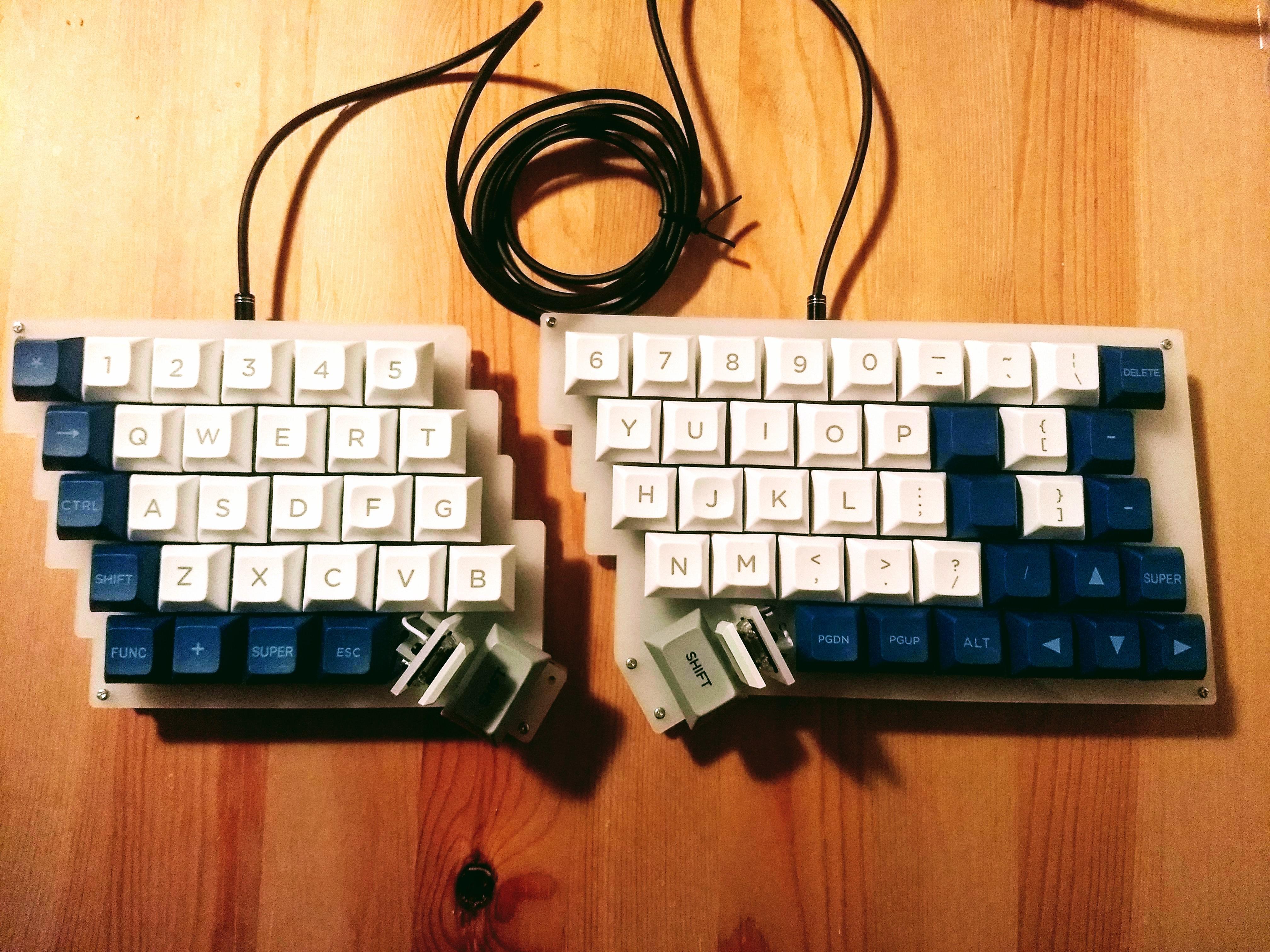 自作 キーボード